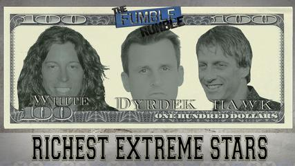 News video: Richest Extreme Stars: Hawk, Dyrdek, White